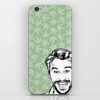 james franco iPhone & iPod Skins featuring Franco by naidl