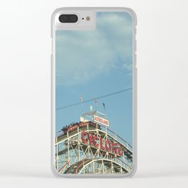 CYCLONE Clear iPhone Case