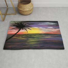 Sunset Sea Rug