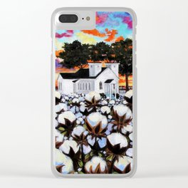 Sweet Sanctuary Clear iPhone Case