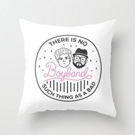 Good Vibes - Boyband Throw Pillow