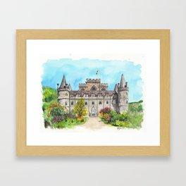 Inveraray Castle Framed Art Print