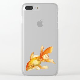 The Golden One Clear iPhone Case