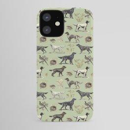 Bird-dog pattern iPhone Case