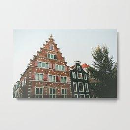 Amsterdam House Metal Print