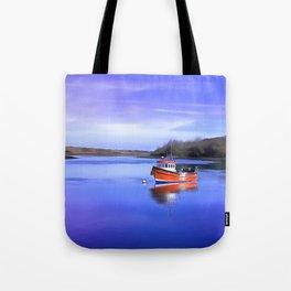 Whiterock Bay, Ireland. (Painting.) Tote Bag
