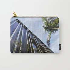 Palm Trees and Chrome Carry-All Pouch
