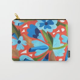 Floral Folk  Carry-All Pouch