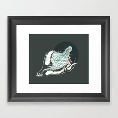 fly. Framed Art Print