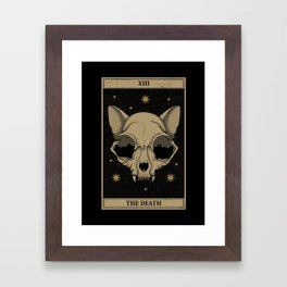 The Death Framed Art Print