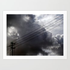 One of these days!! Art Print