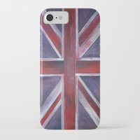 reassurance iPhone & iPod Cases featuring British by Magdalena Hristova
