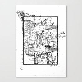SKINWALKER STORYBOARD Canvas Print