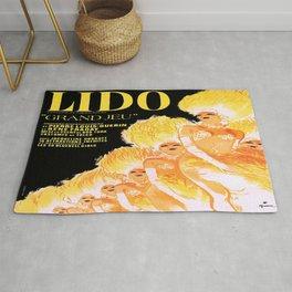 Vintage poster - Lido Rug