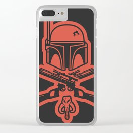 The Fett Clear iPhone Case