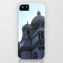 The architecture of St. Isaac's Cathedral. iPhone Case