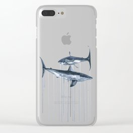 Whites Clear iPhone Case