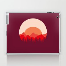 Red Mountains Laptop & iPad Skin