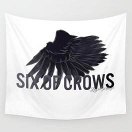 Six Of Crows Wall Tapestry