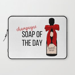 Champagne party print Laptop Sleeve