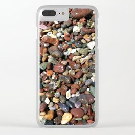 Moonstone Beach Clear iPhone Case