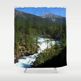 Mac Donald River Rapids Shower Curtain