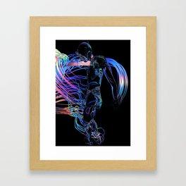 Human Flow Framed Art Print