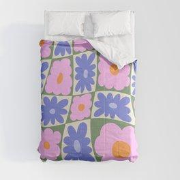 Floral seven Comforters