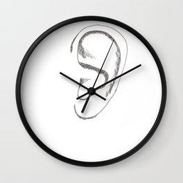 an earful Wall Clock