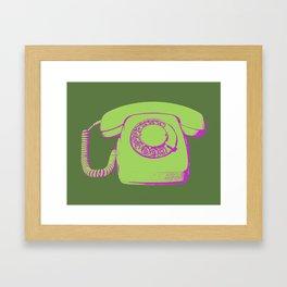FAVOURITE90 - Telephone Framed Art Print