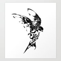 freedom Art Prints featuring Freedom by KUI29