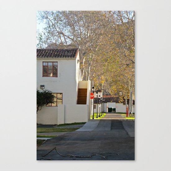Through The Quad Canvas Print