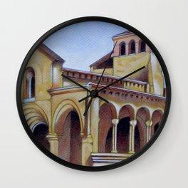 Postcard from Iglesia de la Trinidad, Segovia, Spain Wall Clock