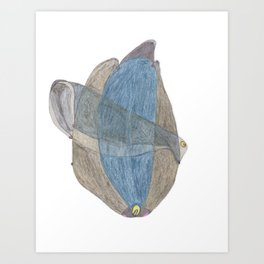 Drawing #19 Art Print