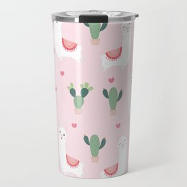 Cute Alpacca's Travel Mug