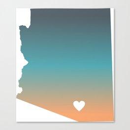 Arizona - Tucson Canvas Print