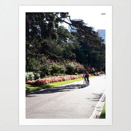 Melbourne Summer Art Print