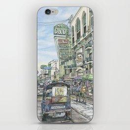 One day in Bangkok iPhone Skin
