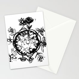 Little Prince small planet Stationery Cards