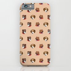 Cute and Elegant Dog Head Graphic Pattern Slim Case iPhone 6s