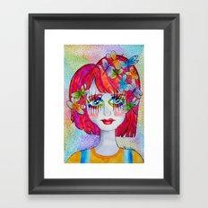 Miss Elm Framed Art Print