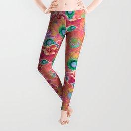 Luminous Floral Leggings