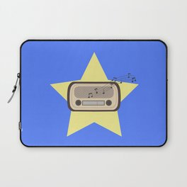Retro Radio   Laptop Sleeve
