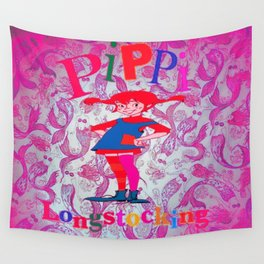 Pippi's World Wall Tapestry