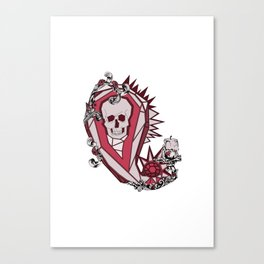 Drink Up Me Hearties Canvas Print