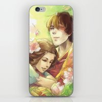 zuko iPhone & iPod Skins featuring Dreamers by TEAM JUSTICE ink.