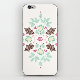 The Holly and The Ivy iPhone Skin