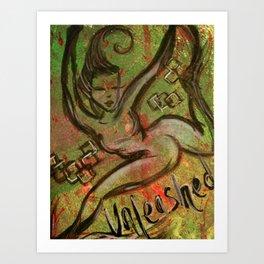 Unleashed Art Print