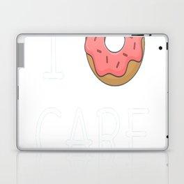 Cute I Donut Care Laptop & iPad Skin