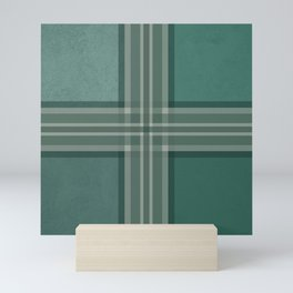 Shades of green Mini Art Print